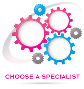 Choose a specialist